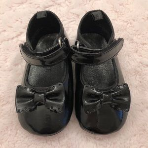 Children's Place Baby Girl Black Patent Mary Janes